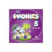Curs limba engleza My Phonics 5 Set 2 Audio-CD - Jenny Dooley, Virginia Evans