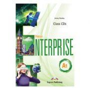 Curs limba Engleza New Enterprise A1 Audio Set 4 CD - Jenny Dooley