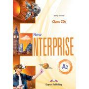 Curs limba engleza New Enterprise A2 Audio Set 3 CD - Jenny Dooley