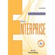 Curs limba engleza New Enterprise A2 Gramatica cu Digibook App - Jenny Dooley