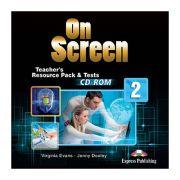 Curs limba engleza On Screen 2 Material aditional pentru Profesor Teste CD - Jenny Dooley, Virginia Evans