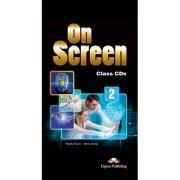 Curs limba engleza On Screen 2 Set 6 CD - Jenny Dooley, Virginia Evans
