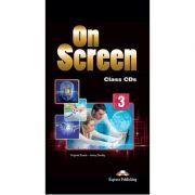 Curs limba engleza On Screen 3 Audio Set 5 CD - Jenny Dooley, Virginia Evans