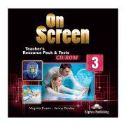 Curs limba engleza On Screen 3 Material aditional pentru Profesor Teste CD - Jenny Dooley, Virginia Evans