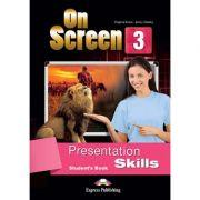 Curs limba engleza On Screen 3 Presentation Skills Manual - Jenny Dooley, Virginia Evans