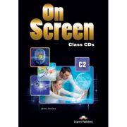 Curs limba engleza On Screen C2 Audio Set 5 CD - Jenny Dooley