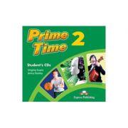 Curs limba engleza Prime Time 2 Audio Set 2 CD - Virginia Evans, Jenny Dooley