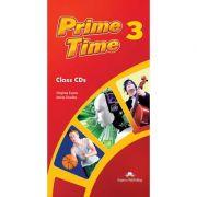 Curs limba engleza Prime Time 3 Audio Set 5 CD - Virginia Evans, Jenny Dooley