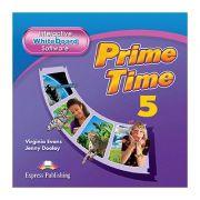 Curs limba engleza Prime Time 5 Soft pentru Tabla Magnetica Interactiva - Virginia Evans