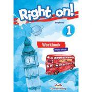 Curs limba engleza Right On 1 Caietul profesorului cu Digibook App. - Jenny Dooley