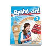 Curs limba engleza Right On 1 Manual cu Digibooks App. - Jenny Dooley