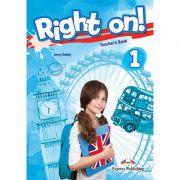 Curs limba engleza Right On 1 Manualul Profesorului - Jenny Dooley