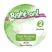 Curs limba engleza Right On 2 Teste CD - Jenny Dooley