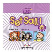 Curs limba engleza Set Sail 2 DVD - Elizabeth Gray, Virginia Evans