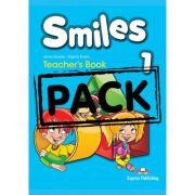Curs limba engleza Smiles 1 Manualul Profesorului cu postere - Jenny Dooley, Virginia Evans