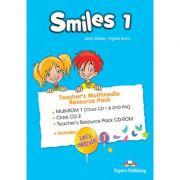 Curs Limba Engleza Smiles 1 Material aditional pentru profesor Pachet Multimedia - Jenny Dooley, Virginia Evans
