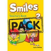 Curs limba engleza Smiles 2 Manualul Profesorului cu postere - Jenny Dooley, Virginia Evans