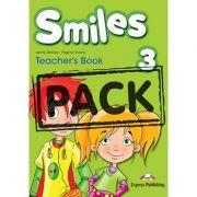Curs limba engleza Smiles 3 Manualul Profesorului cu postere - Jenny Dooley, Virginia Evans