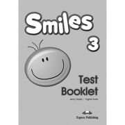 Curs Limba Engleza Smiles 3 Teste - Jenny Dooley, Virginia Evans