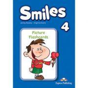 Curs Limba Engleza Smiles 4 Picture Flashcards - Jenny Dooley, Virginia Evans
