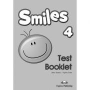 Curs limba engleza Smiles 4 Teste - Jenny Dooley, Virginia Evans