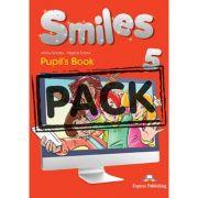 Curs limba engleza Smiles 5 Manual cu iebook - Jenny Dooley, Virginia Evans