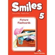 Curs limba engleza Smiles 5 Picture Flashcards - Jenny Dooley, Virginia Evans