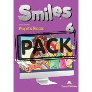 Curs limba engleza Smiles 6 Manual cu iebook - Jenny Dooley, Virginia Evans