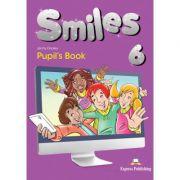 Curs limba engleza Smiles 6 Manual - Jenny Dooley, Virginia Evans