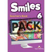 Curs limba engleza Smiles 6 Manualul Profesorului cu Postere - Jenny Dooley, Virginia Evans