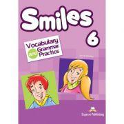 Curs limba engleza Smiles 6 Vocabular si Gramatica - Jenny Dooley, Virginia Evans