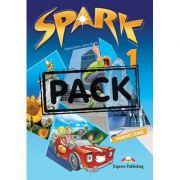 Curs limba engleza Spark 1 Monstertrackers Pachetul elevului cu iebook - Virginia Evans, Jenny Dooley