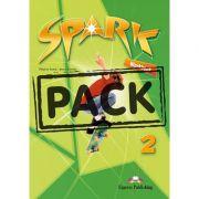 Curs limba engleza Spark 2 Monstertrackers Caietul elevului cu Digibook App - Virginia Evans, Jenny Dooley