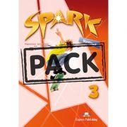 Curs limba engleza Spark 3 Monstertrackers Caietul elevului cu Digibook App - Virginia Evans, Jenny Dooley