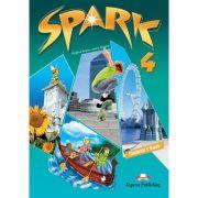 Curs limba engleza Spark 4 Monstertrackers Manual - Virginia Evans, Jenny Dooley