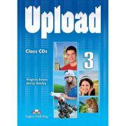 Curs limba engleza Upload 3 Audio Set 4 CD - Virginia Evans, Jenny Dooley