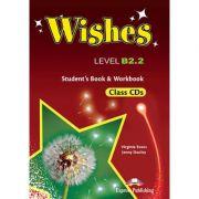 Curs limba engleza Wishes B2. 2 audio Set 9 CD - Virginia Evans, Jenny Dooley