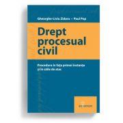 Drept procesual civil. Procedura in fata instantei si in caile de atac - Gheorghe-Liviu Zidaru, Paul Pop