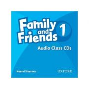 Family and Friends 1. Class Audio CDs - Naomi Simmonds