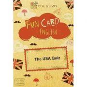 Fun card English The USA Quiz
