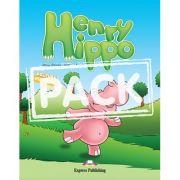 Henry Hippo cu MULTI-ROM - Virginia Evans, Jenny Dooley