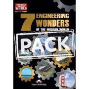 Literatura CLIL pentru copii. The 7 Engineering Wonders of the Modern World Pachetul elevului - Virginia Evans, Jenny Dooley