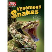 Literatura CLIL Venomous Snakes cu cross-platform App - Virginia Evans, Jenny Dooley