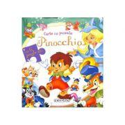 Pinocchio. Carte cu puzlle
