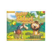 Super Safari 2. Pupil's Book. Limba Engleza. Grupa mare. 5-6 ani - Herbert Puchta, Gunter Gerngross, Peter Lewis-Jones, Oana Cristina Stoica