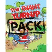 The Giant Turnip cu multi-rom - Virginia Evans, Jenny Dooley
