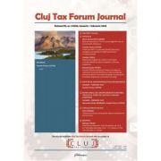 Cluj Tax Forum Journal 1/2020 - Cosmin Flavius Costas