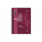 Codul penal si Codul de procedura penala Octombrie 2020 - EDITIE SPIRALATA, tiparita pe hartie alba - Dan Lupascu