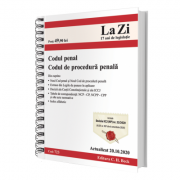 Codul penal si Codul de procedura penala. Cod 723. Actualizat la 20. 10. 2020