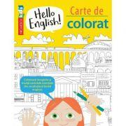 Hello English! Carte de colorat - Sam Hutchinson, Emilie Martin